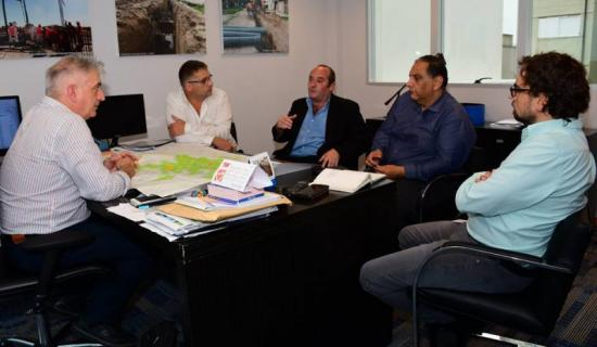 El intendente Randazzo se reunió con directivos de ABSA